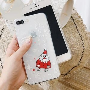 NEW iPhone 7/8 Santa Case